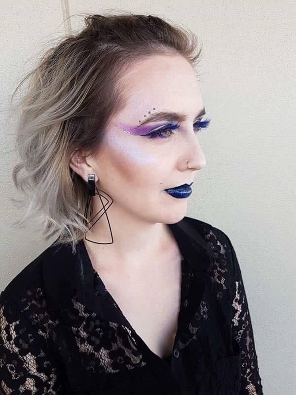Fantasy Makeup of a girl